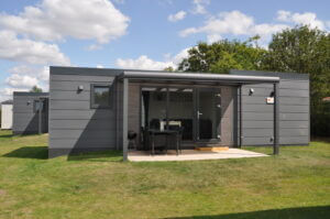 Mobilehome 4+2 pers.